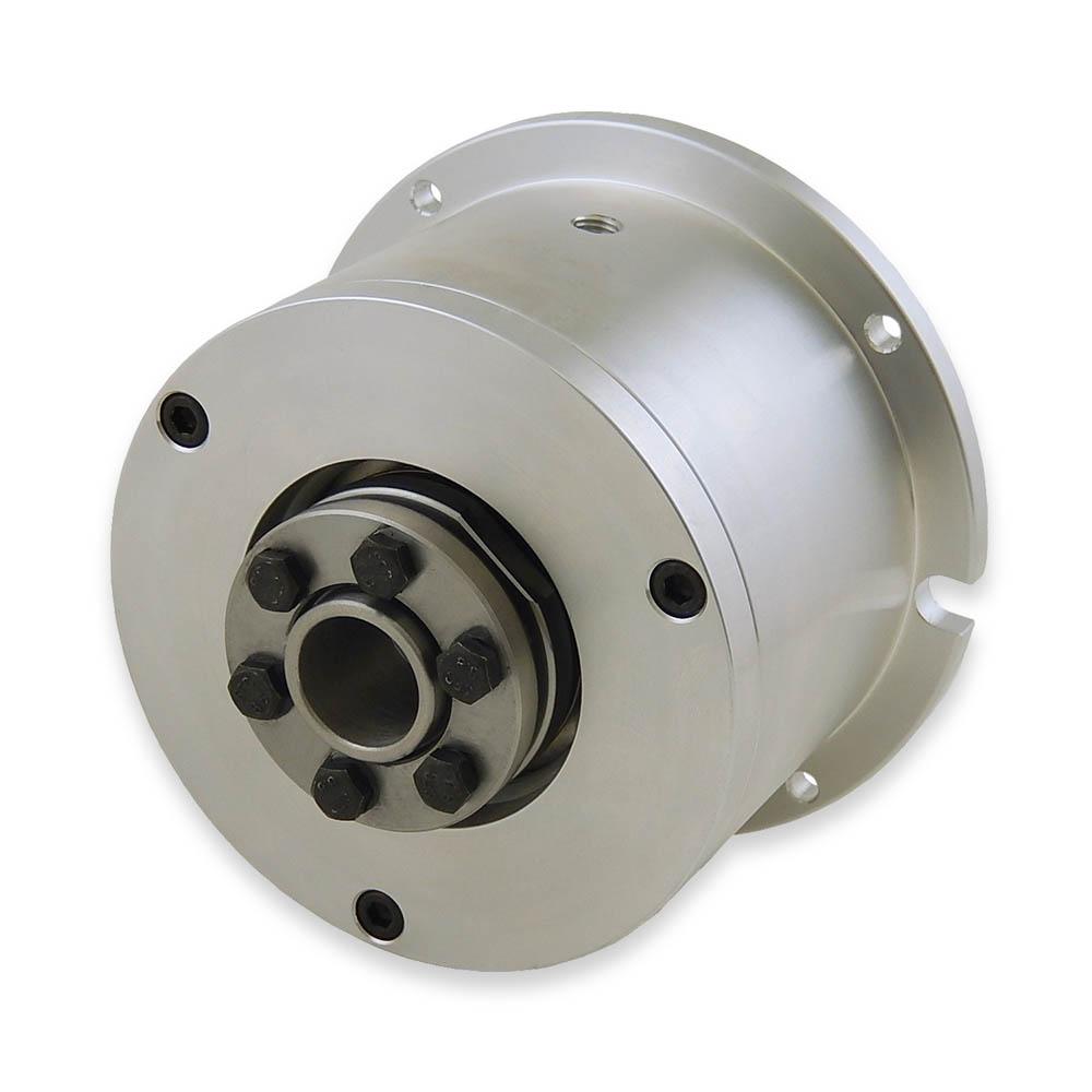 Brake With Shrink Disc Attachment